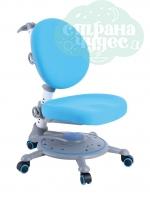 Кресло компьютерное FunDesk SST1 детское, blue/голубое