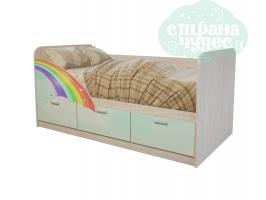 Кровать детская BTS Минима Радуга