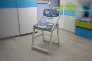 Комплект подушек на растущий стул 38 попугаев Робин Вуд, салют