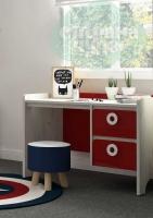 Стол письменный Klюkva Mini MST1, 110 см, красный чили