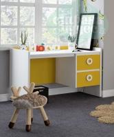 Стол письменный Klюkva Mini MST1, 120 см, солнечный свет/белый