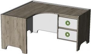 Стол письменный угловой Klюkva Mini MST2