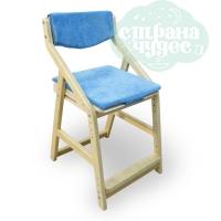 Комплект подушек на растущий стул 38 попугаев Робин Вуд, топаз