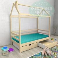 Кровать-домик Авеньён с ящиками