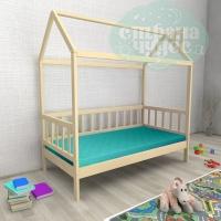 Кровать-домик из березы №2