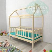 Кровать-домик Ницца с бортиком