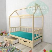Кровать-домик Ницца с ящиками
