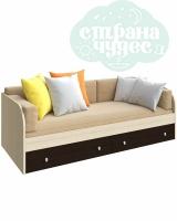 Кровать Астра 190 см, венге