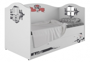 Кровать-домик детская Klюkva Baby KD16, 160х80 см, Пират