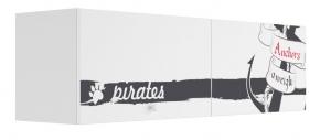 Полка с 2 фасадами Klюkva Baby A22, Пират