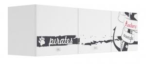Полка с 3 фасадами Klюkva Baby A33, Пират