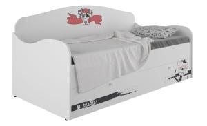 Кровать-диван детская Klюkva Baby KS, с ящиком, Пират
