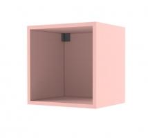 """Полка 1 куб 38 попугаев """"Ньютон"""" розовая"""