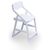 Растущий стул 38 попугаев Робин Вуд, белый