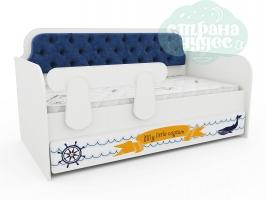 Кровать-диван Тридевятое Царство, сапфир