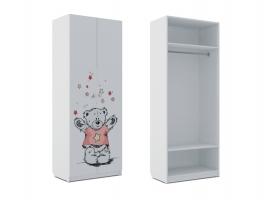 Шкаф для одежды Klюkva Baby SH0, Тедди