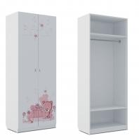 Шкаф для одежды Klюkva Baby SH0, Мишка Girl