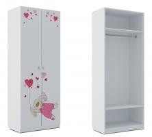 Шкаф для одежды Klюkva Baby SH0, Зайка