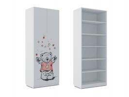 Шкаф для белья Klюkva Baby SH1, Тедди