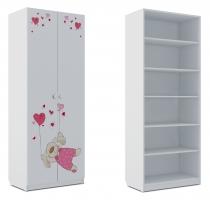 Шкаф для белья Klюkva Baby SH1, Зайка