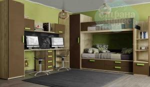 Детская комната Klюkva Junior Шоколад
