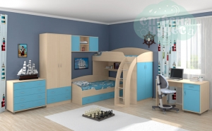 Комната ФМ Соня, голубая