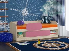 Кровать ФМ Соня 4, розовая