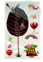 Наклейки для детской «Волшебный мир» 60*30 см