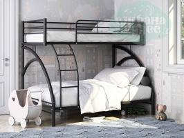 Двухъярусная кровать ФМ Виньола-2, черный
