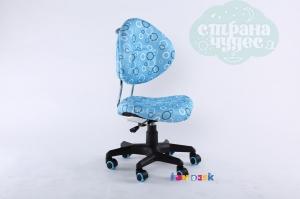 Детское кресло FunDesk SST5, голубое