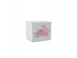 Тумба для игрушек Klюkva Baby T0, Мишка Girl
