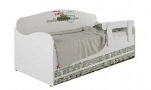 Кровать-диван детская Klюkva Baby KS, с ящиком, Танки