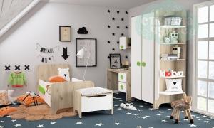 Комната детская Klюkva Mini Белый-Дуб серый