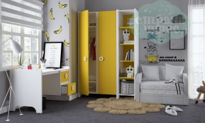 Комната детская Klюkva Mini Солнечный свет-Белый