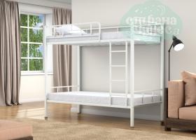 Двухъярусная кровать Валенсия, белая