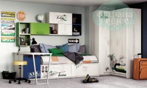 Детская комната Клюква Junior, print Travel